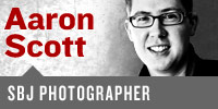 Aaron Scott, SBJ Editorial Photographer & Designer