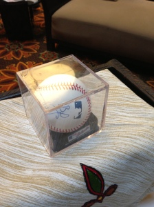 A small piece of Hollywood, baseball and Ozarks history rolled into one neat package.